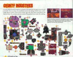 This is actually the map from Grunty Industries.