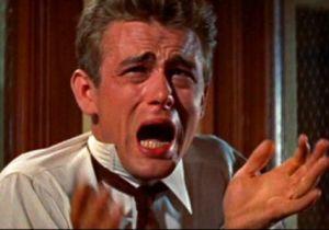 James Dean re-enacting how I felt after beating BT.