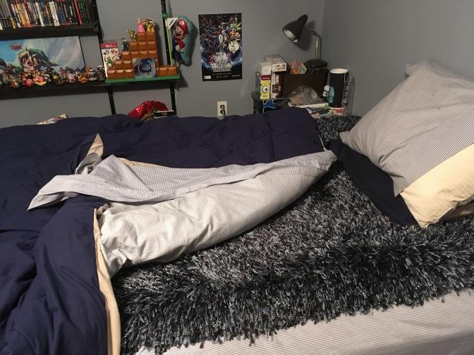 shag-rug-bed