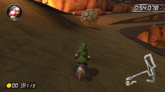 Mario Kart 8 Deluxe Bowser's Castle