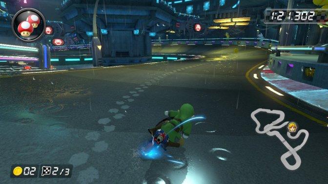 Mario Kart 8 Neo Bowser City 1