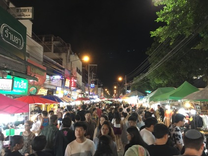 Night market in Chiang Mai.