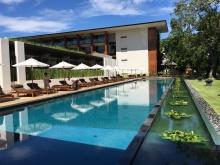 Pool at the Chiang Mai Riverside - beautiful resort!