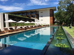 Pool at the Chiang Mai Riverside - beautiful resort!