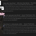 """THE BEST AND WORST STORY MISSION OF ALL TIME: """"JIVE DRIVE"""""""